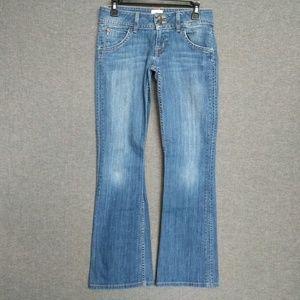 Hudson Signature BootCut Jeans Stretch Distressed